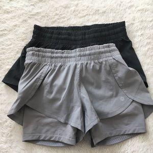 Athleta Shorts BUNDLE(2)
